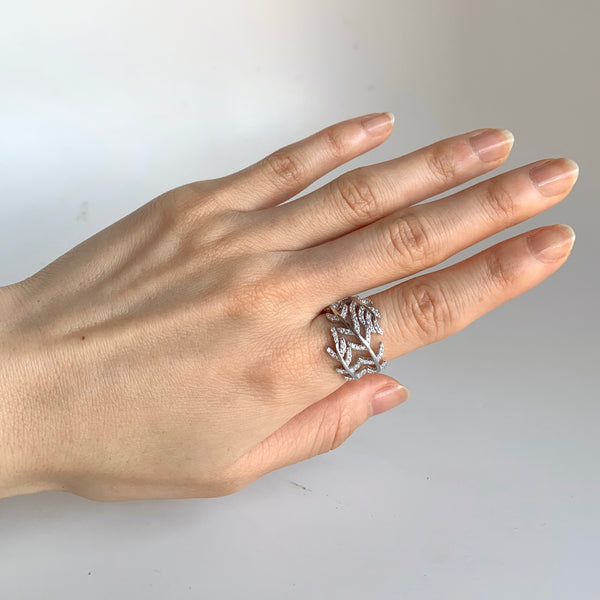 Vine Leaves Ring