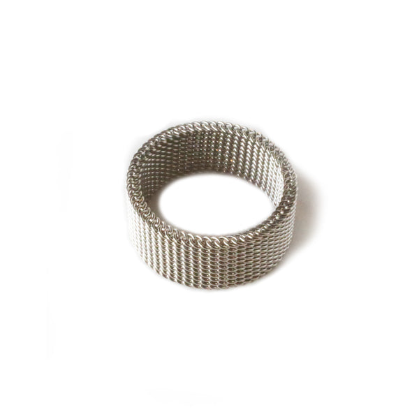 Mesh Ring | Stainless Steel