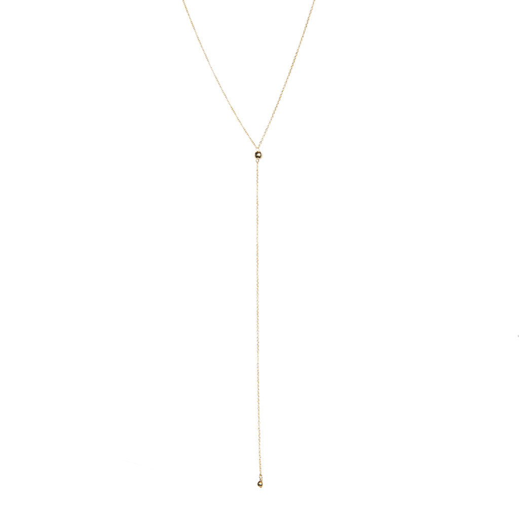 Ball Lariat | Gold
