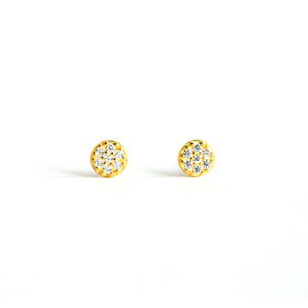 Pave Disk Studs