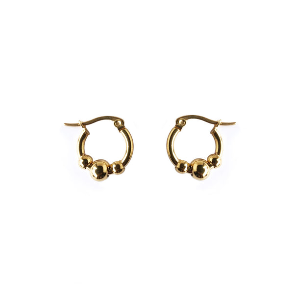 Three Ball Hoops | Gold