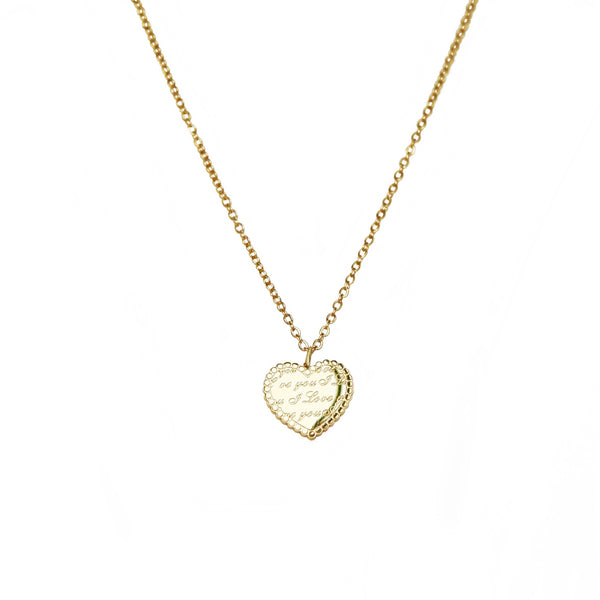 """Love You""Necklace 