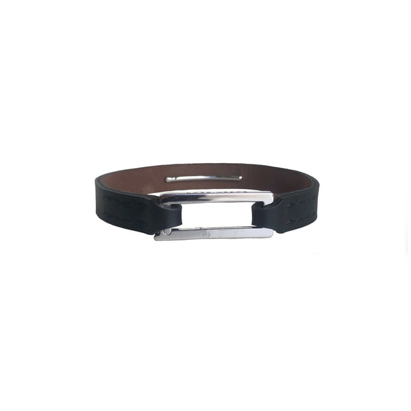 Rectangle Leather Bracelet