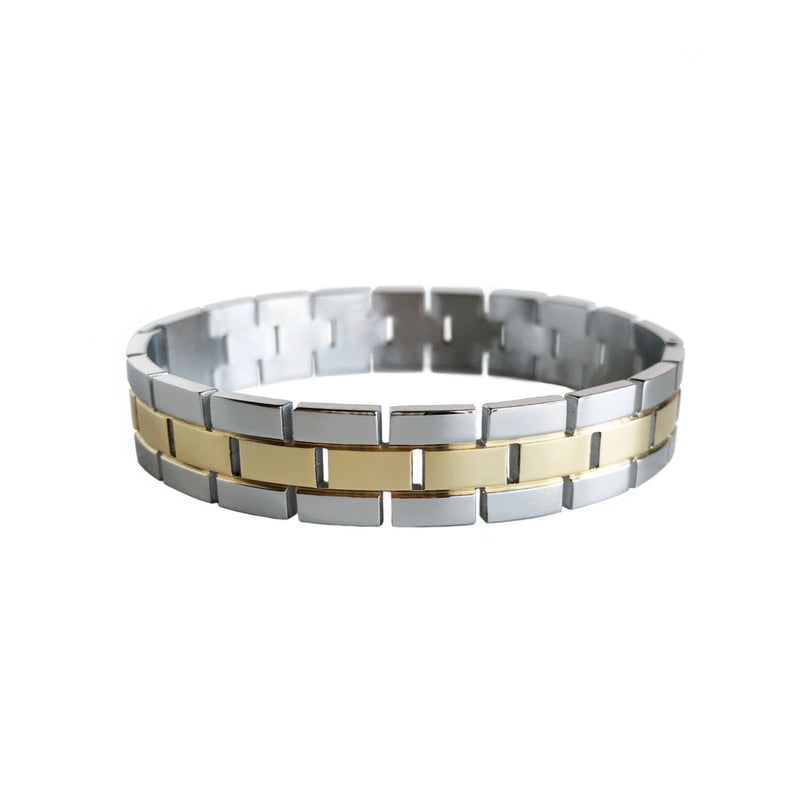 Silver & Gold Duo Bangle