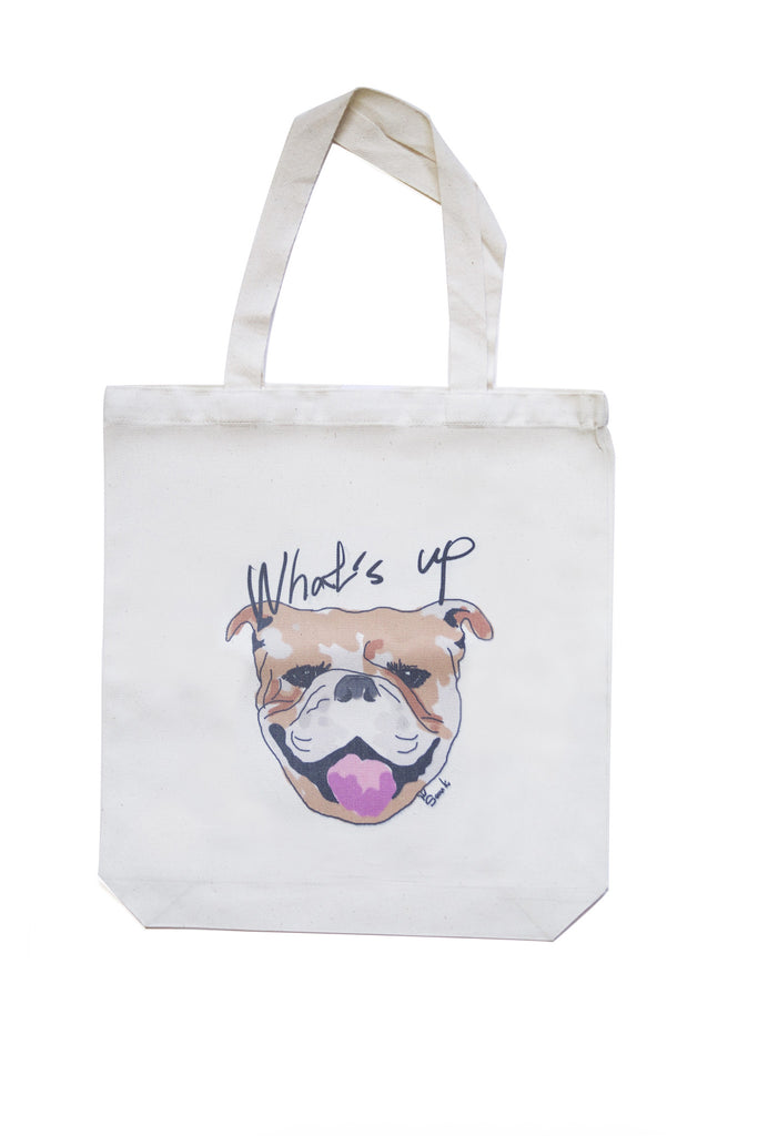 What's Up Bulldog Eco Bag