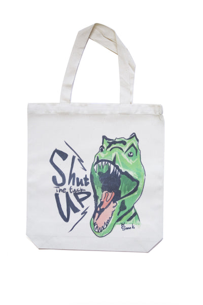 Shut The F*ck Up Dino Eco Bag