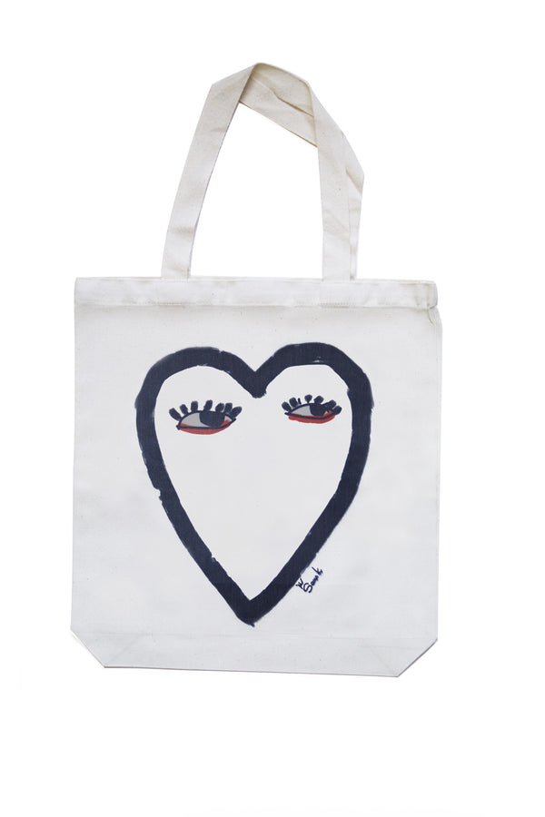 Heart Face Eco Bag