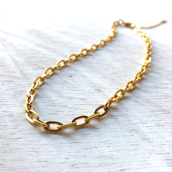 Gold Fire Chain