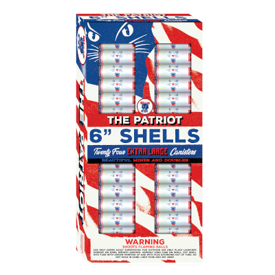 The Patriot 6″ Double Break Canister Shells