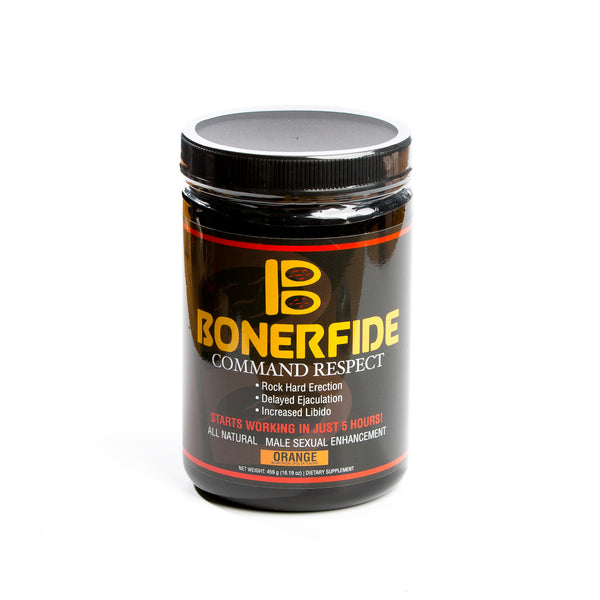 Bonerfide 30-Dose supply. Male Sexual Enhancement. Designed to significantly enhance your sexual performance. Effective for ED (Erectile Dysfunction).