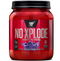 BSN N.O. Xplode Nitric Oxide Booster + Pre Workout Powder, Grape, 60 Servings - CertNutri