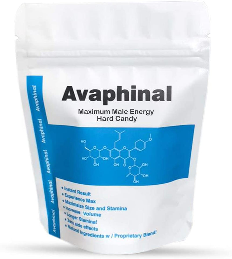 Avaphinal Maximum Male Energy Lozenges - Male Hard Candy - Pack of 10 - CertNutri