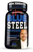 Ron Jeremy's Blue Steel Men's Formula Private Label Series - 3 Bottles - CertNutri