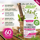 Natural Herbal Female Desire Supplement - Magic Pill for Women Testosterone Booster, Increase Stamina & Energy, Boosts Bed Drive & Prevent Vaginal Dryness 100% Women Supplement
