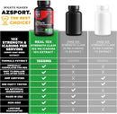 AZS Premium Male Enhancing Pills - Enlargement Booster for Men [10X Strength] - Increase Drive, Stamina & Endurance - Fast Acting & Natural Horny Goat Weed Supplement with 100mg Icariins
