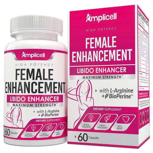 Natural Herbal Female Desire Supplement - Magic Pill for Women Testosterone Booster, Increase Stamina & Energy, Boosts Bed Drive & Prevent Vaginal Dryness 100% Women Supplement - CertNutri