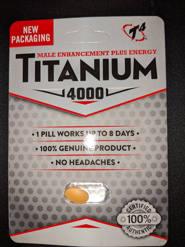 Titanium 4000 Male sexual enhancement - all natural supplement