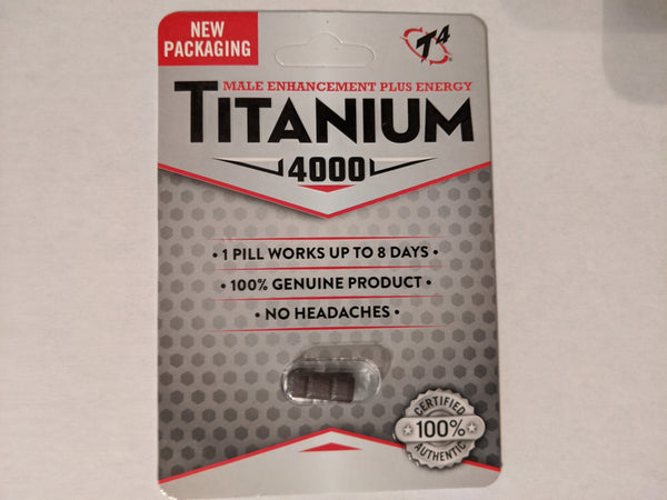 Titanium 4000 Male sexual enhancement - all natural supplement - Bar