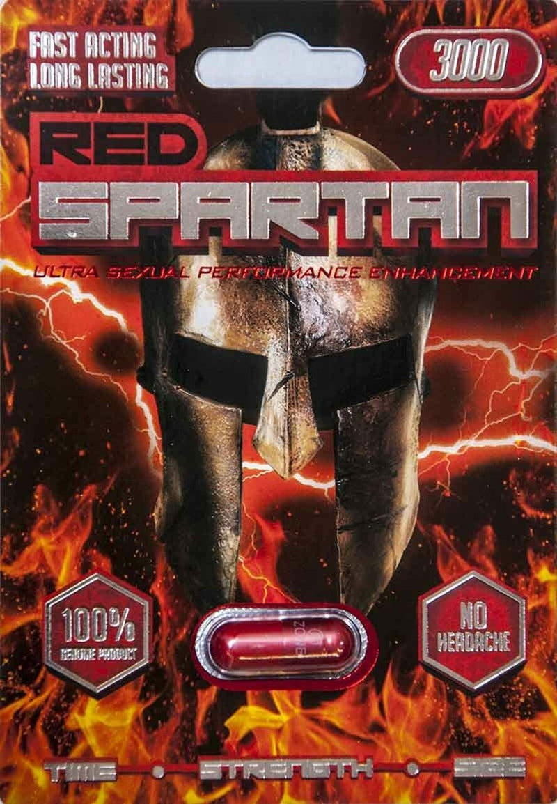 Red Spartan 3000 Male sexual enhancement - CertNutri