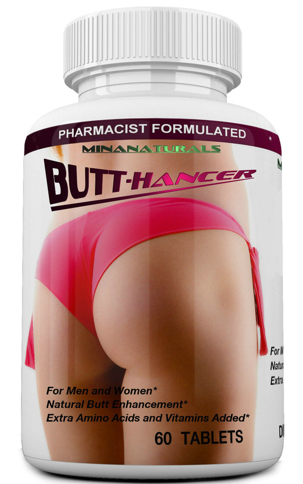 BUTT. HANCER The Best Natural Female Butt Enhancer & Enlargement Pills, Get a Firm, Fuller & Sexy Buttocks, Butt. 2600Mg Formula (The Most Complete) - CertNutri