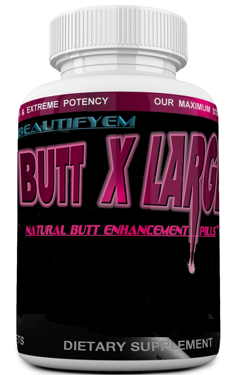BUTT X-LARGE V-2 Butt Enlargement, Booty Enhancement. Butt enhancer Pills. (Not a Butt Cream)