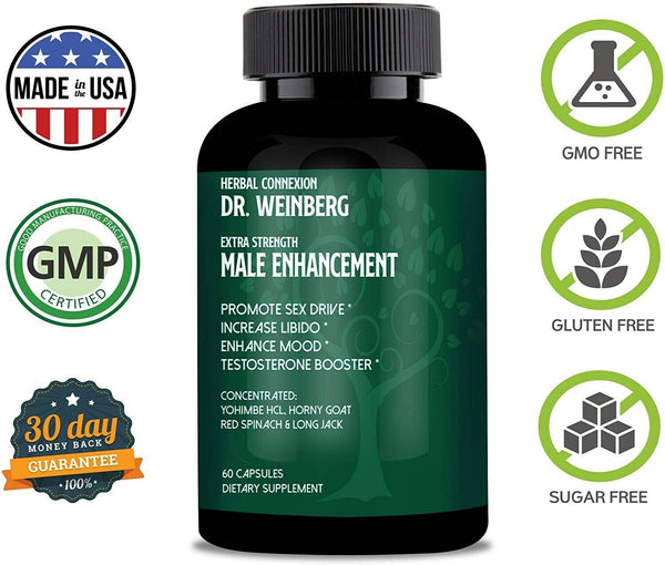 Dr. Weinberg Male Enhancement Supplement 1 month 712038943661 - CertNutri