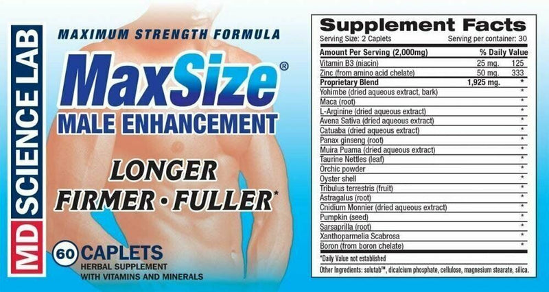 Max Size Sex Pill 💕 Sexual Performance Enhancement Herbal Sex Supplement 2000mg