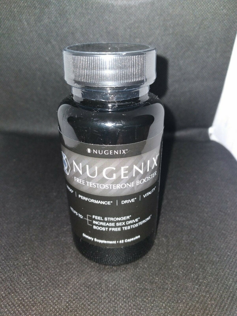 Nugenix Free Testosterone Booster 42 Capsules Sexual Enhancement Muscle Gainer 855710002345