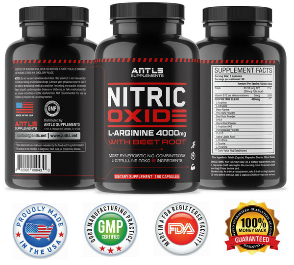 Nitric Oxide Male Enhancement,Libido,Stamina,Performance Pills. 862995000430