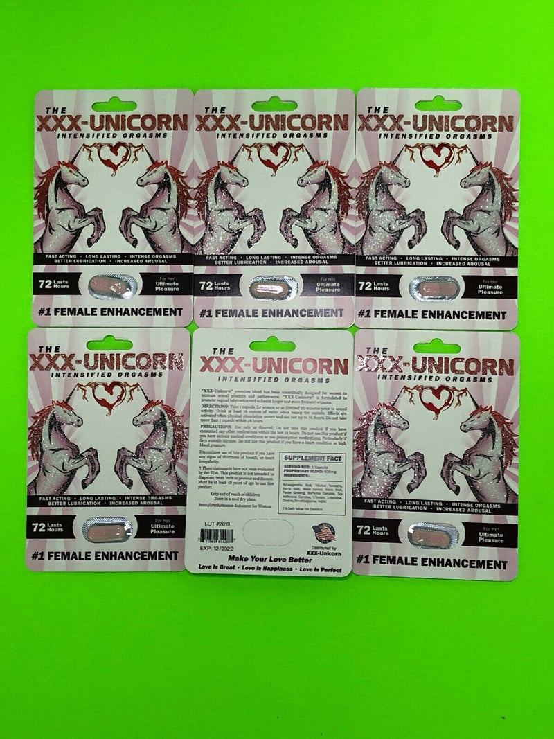 Unicorn FeMale Sexual Enhancement for Her Ultimate Pleasure Orgasm 711841614287 - CertNutri
