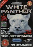 White Panther Male Sexual POWER Enhancement pill - CertNutri