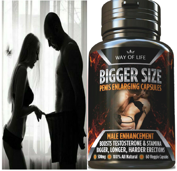 Best Bigger Size Male Enhancement Sexual Stamina Pills 607841533416