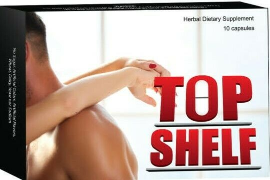 Top Shelf - ED Problems - Male Enhancement Sex Pills - Guaranteed Best Sex! (10) 781643601969