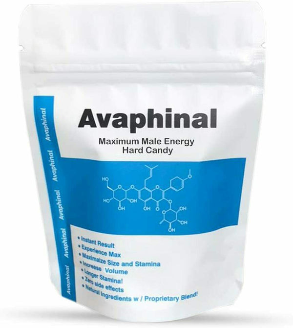 Avaphinal Original – Enhanced Libido, Stamina, and Male Enhancement Hard Candy 826792205269