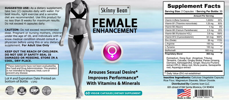 Sexual Max Enhancement pill for Women is a Female Libido Enhancer supplements 651536055318