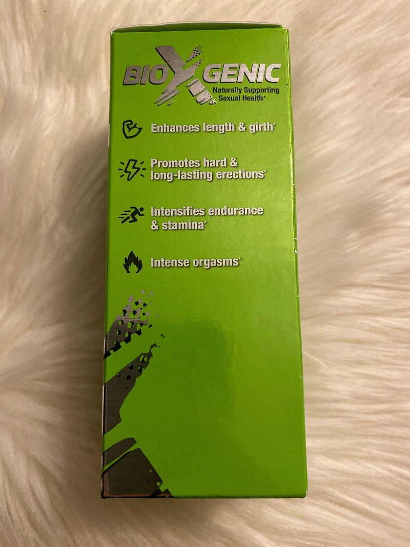 BioXGenic Bio-Hard Male Enhancement Dietary Supplement 30 Caps exp 07/21+ 699439000349 - CertNutri