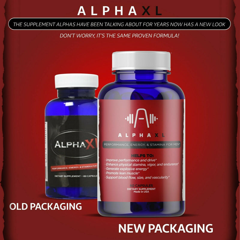 Alpha XL Enhancement Energy Pills - Men Testosterone Supplement - CertNutri