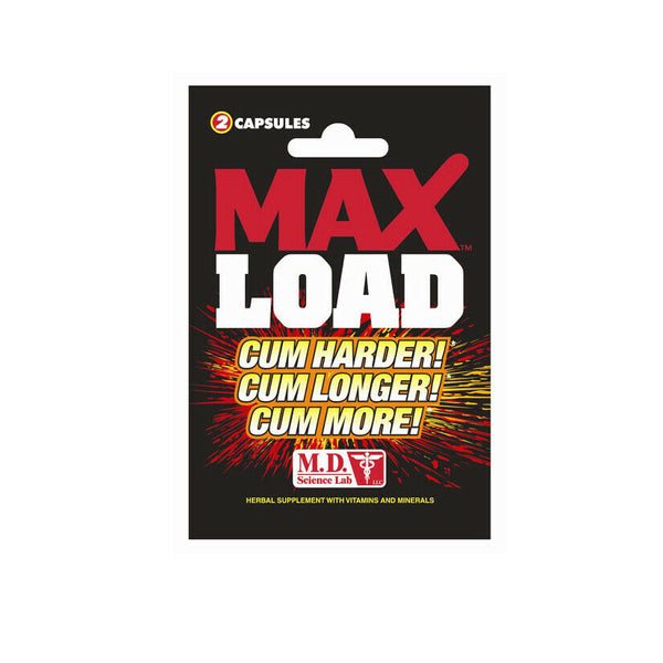 Max Load for Male Ejaculation Intensify Orgasm Enhancement  2 Pills