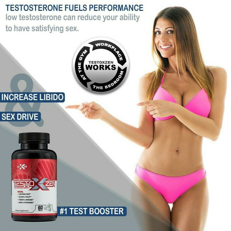 Male Enhancement Pills 60 Testosterone Booster May Help Erection, For Men Sexual 604286975184 - CertNutri