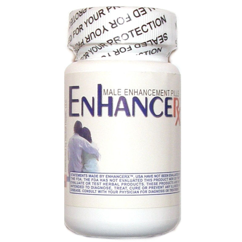 ENHANCERX ENHANCE RX MALE ENHANCEMENT PILLS BIGGER SIZE SEXUAL ENERGY 30 CAPS - CertNutri