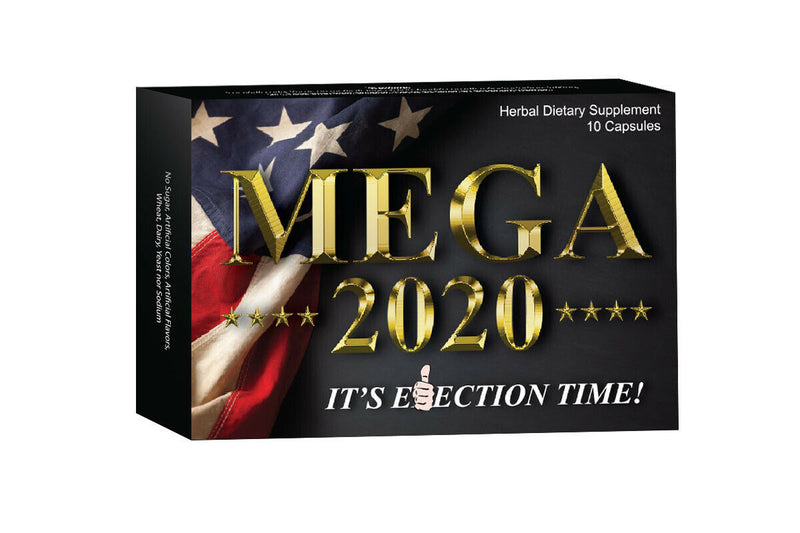 Mega 2020 Male Enhancement Pills Bigger Performance Boost Libido Drive 10 Pills! 781643601952