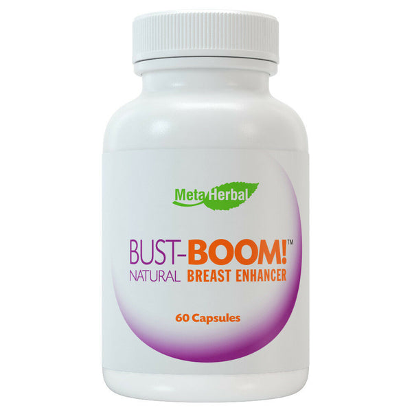 Bust Boom Breast Enlargement Pills Female Enhancement Clears Acne Helps PMS 306761651032 - CertNutri