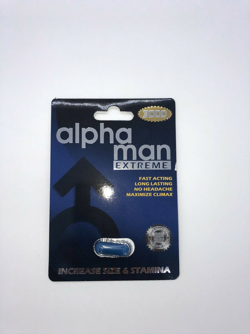 Alpha Man BEST 30000 Sex Pills Male Enhancement Stimulant Sex Performance 40232041167 - CertNutri