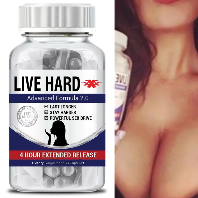 Live Hard Male Enhancement Sex Pills Live Best Sexual Supplement Enhancer - CertNutri