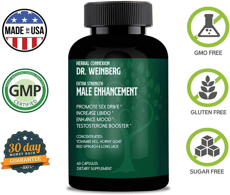 1 Month Dr. Weinberg Male Enhancement Supplement 712038943661