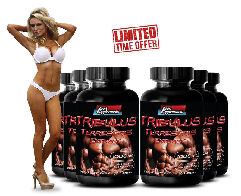 Male Enhancements Pills - Tribulus Terrestris - Supports Testosterone Level 6B
