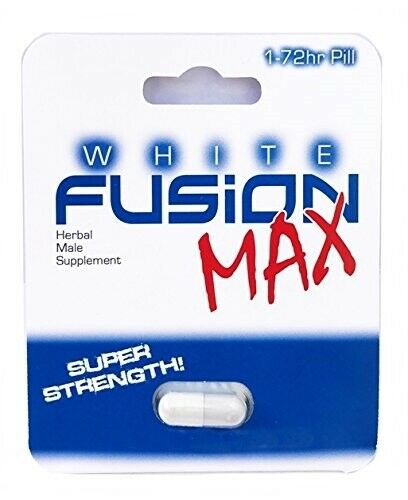 Whitefusion Max Male Enhancement Sex Pills for Rock Hard Performance and Stamina