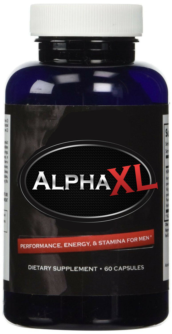 Alpha XL Male Enhancement Energy Pills - Men Low Testosterone Booster Supplement 39517865598