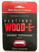 Platinum Wood-E Male Sexual Enhancer Supplement