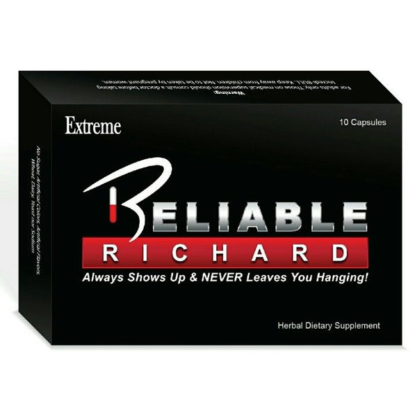 *Reliable Richard Extreme #1 Male Enhancement Male 10 Pills ED - Sexpills Sex Pills 793283786623 - CertNutri
